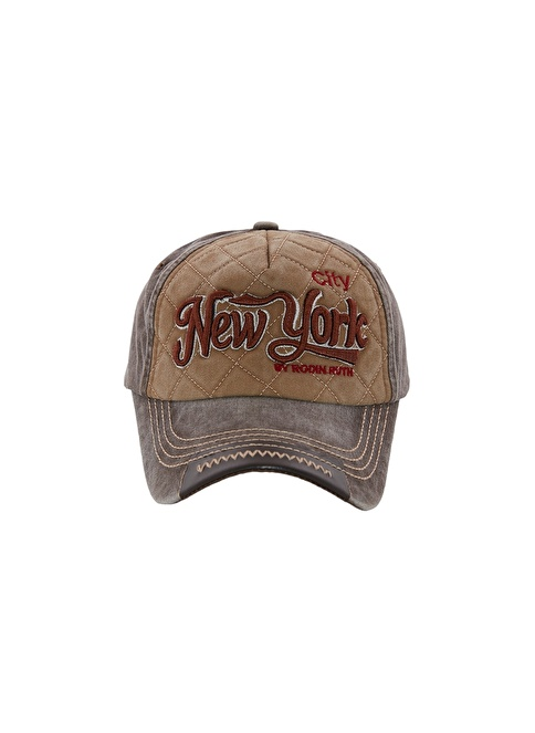 Laslusa City New York Beyzbol Cap Şapka Yeşil